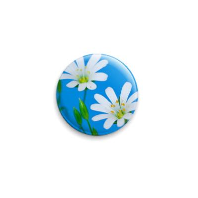 Значок 25мм Планета цветов