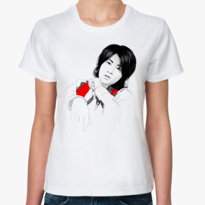 Классическая футболка   Джин