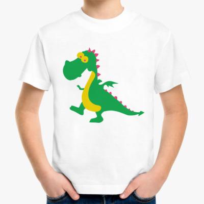 Детская футболка Весёлый дракончик