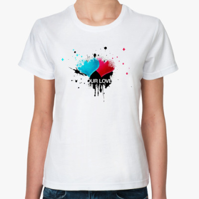 Классическая футболка our love