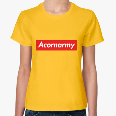 Женская футболка  футболка