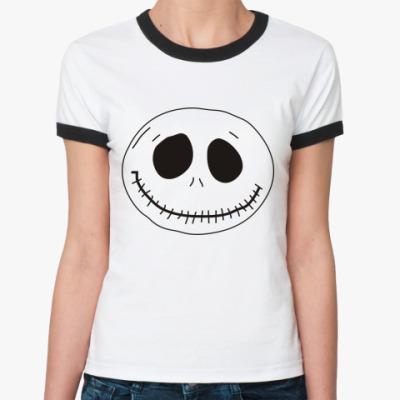 Женская футболка Ringer-T Booh