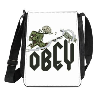 Сумка-планшет Obey. Zomby