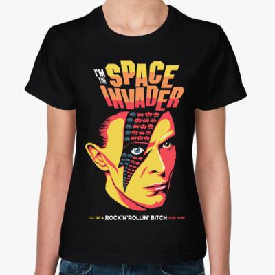 Женская футболка Дэвид Боуи