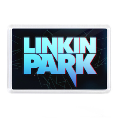 Магнит Linkin park, lp,