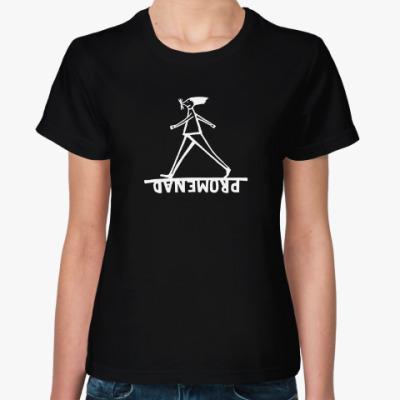Женская футболка Promenad