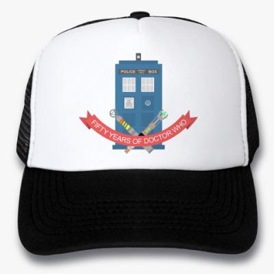 Кепка-тракер TARDIS
