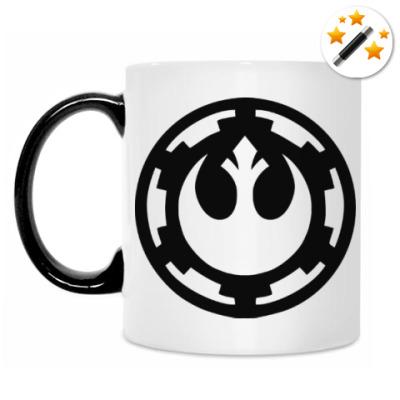 Кружка-хамелеон Имперский Альянс (Звездные Войны)