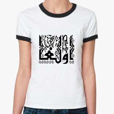 Женская футболка Ringer-T   Ольга