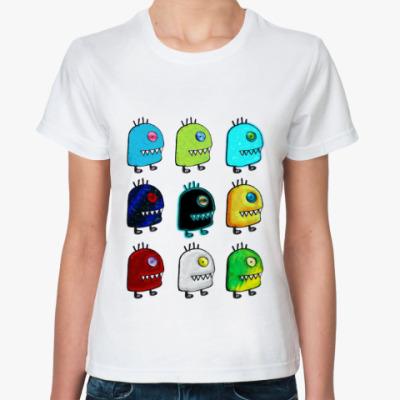 Классическая футболка  UFO