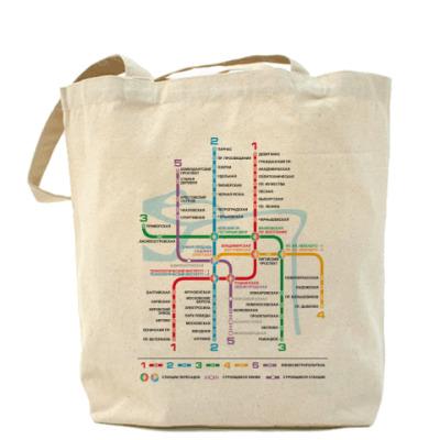 Сумка Питерское метро