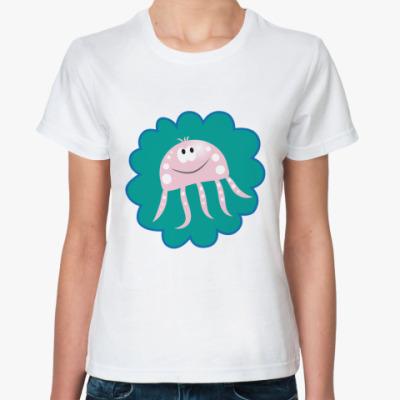 Классическая футболка   Морская