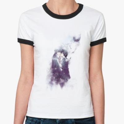 Женская футболка Ringer-T l.o.v.e.