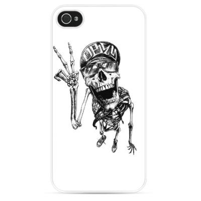 Чехол для iPhone Thrash-скелет