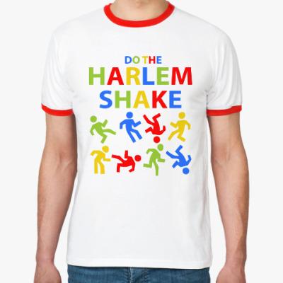 Футболка Ringer-T Harlem Shake