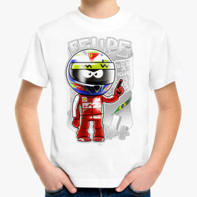Детская футболка Felipe #4 '13