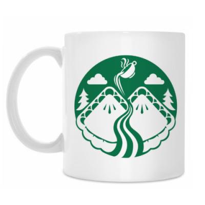 Кружка Twin Peaks coffee Starbucks