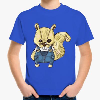 Детская футболка Белка