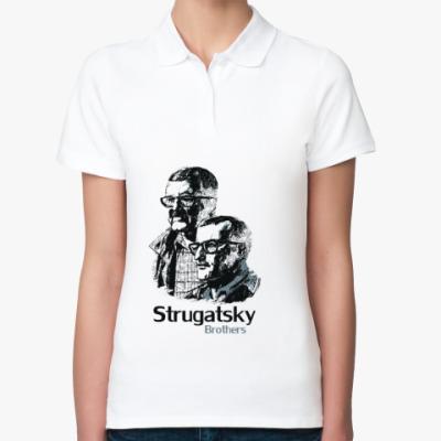 Женская рубашка поло Братья Стругацкие