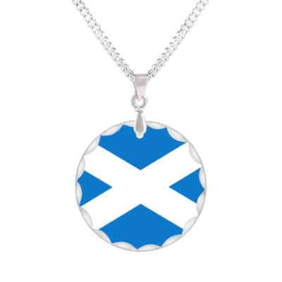 "Кулон Кулон ""Флаг Шотландии"""