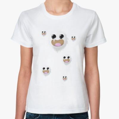 Классическая футболка вайт вишпер