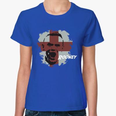 Женская футболка Руни