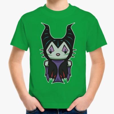Детская футболка Малефисента Китти