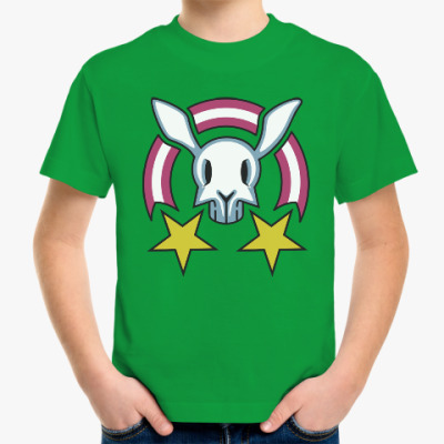 Детская футболка Звездный заяц