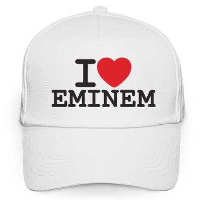 Кепка бейсболка I love Eminem