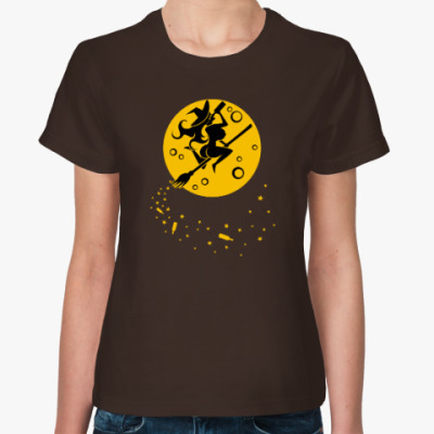 Женская футболка На шабаш