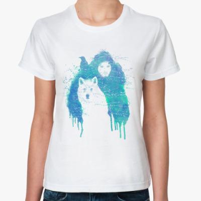 Классическая футболка Лорд Сноу