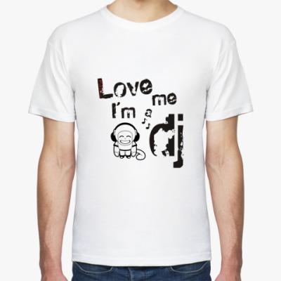 Футболка Love me