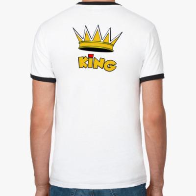 Футболка Ringer-T  KiNG