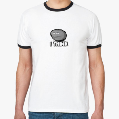 Футболка Ringer-T Для думающих людей