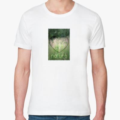 Футболка из органик-хлопка  'I Heart Nature'