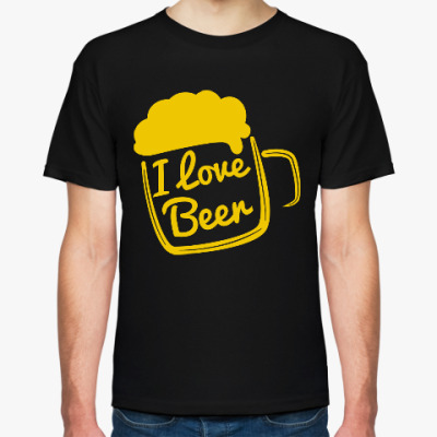 Футболка Люблю Пиво