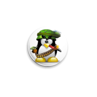 Значок 25мм 'Пингвин'