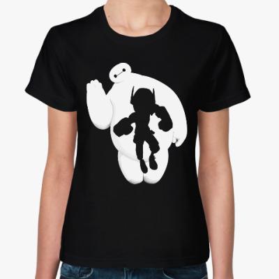 Женская футболка Баймакс