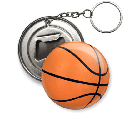 Брелок-открывашка 'Баскетбол'
