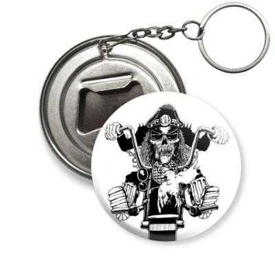 Брелок-открывашка  biker