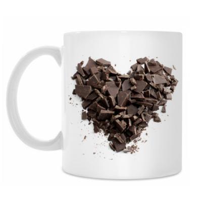 Кружка Шоколадное Сердце