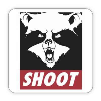 Костер (подставка под кружку) Raccoon Shoot