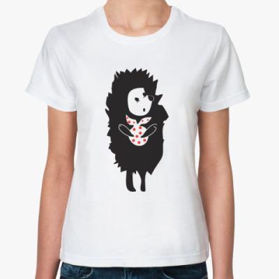 Классическая футболка ёжик