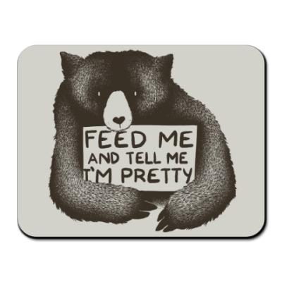 Коврик для мыши Покорми меня