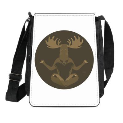 Сумка-планшет Animal Zen: M is for Moose