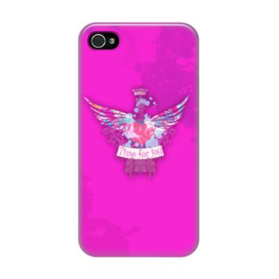 Чехол для iPhone 4/4s Сердце с крыльями