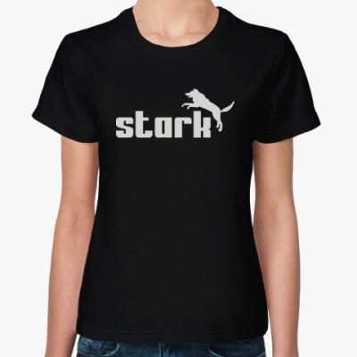 Женская футболка Старк