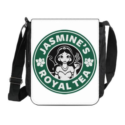 Сумка на плечо (мини-планшет) Жасминовый чай