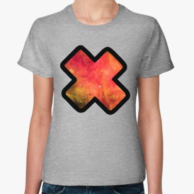 Женская футболка Galaxy X