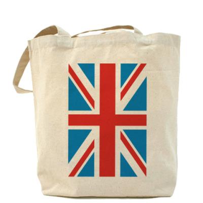 Сумка Холщовая сумка Британский флаг